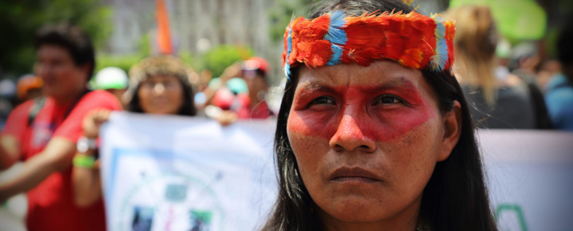 Indigenous Peoples denounce Carbon Offsets at United Nations; Demand Cancellation of REDD+